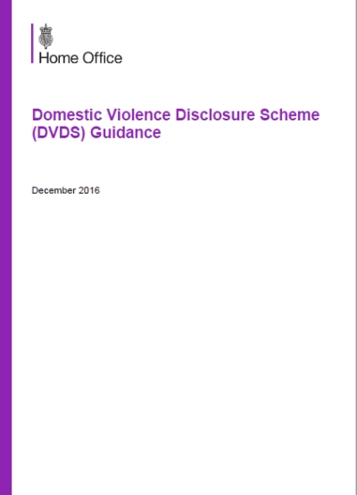 Domestic Violence Disclosure Scheme