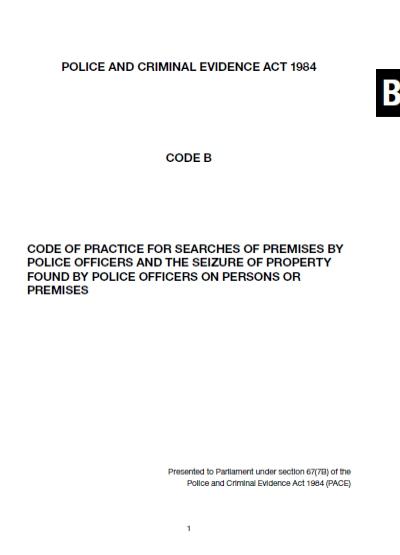 Pace Code B